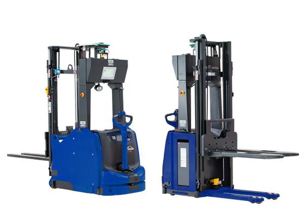 two AGV machines