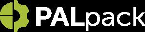 PalPack Logo white